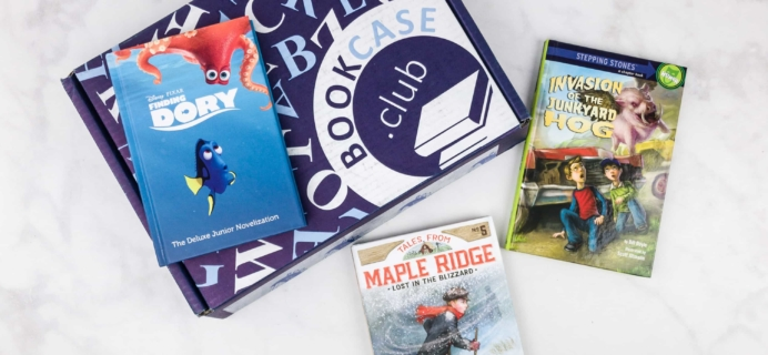 Kids BookCase Club November 2017 Subscription Box Review
