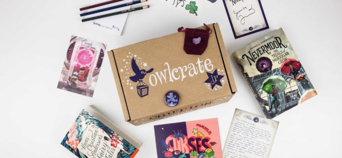 OwlCrate Jr. November 2017 Box Review + Coupon