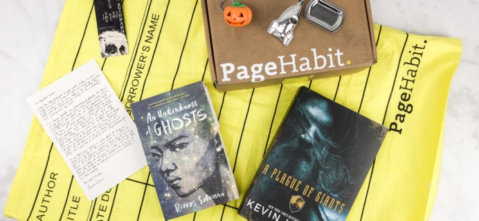PageHabit October 2017 Subscription Box Review + Coupon – Science Fiction + Fantasy