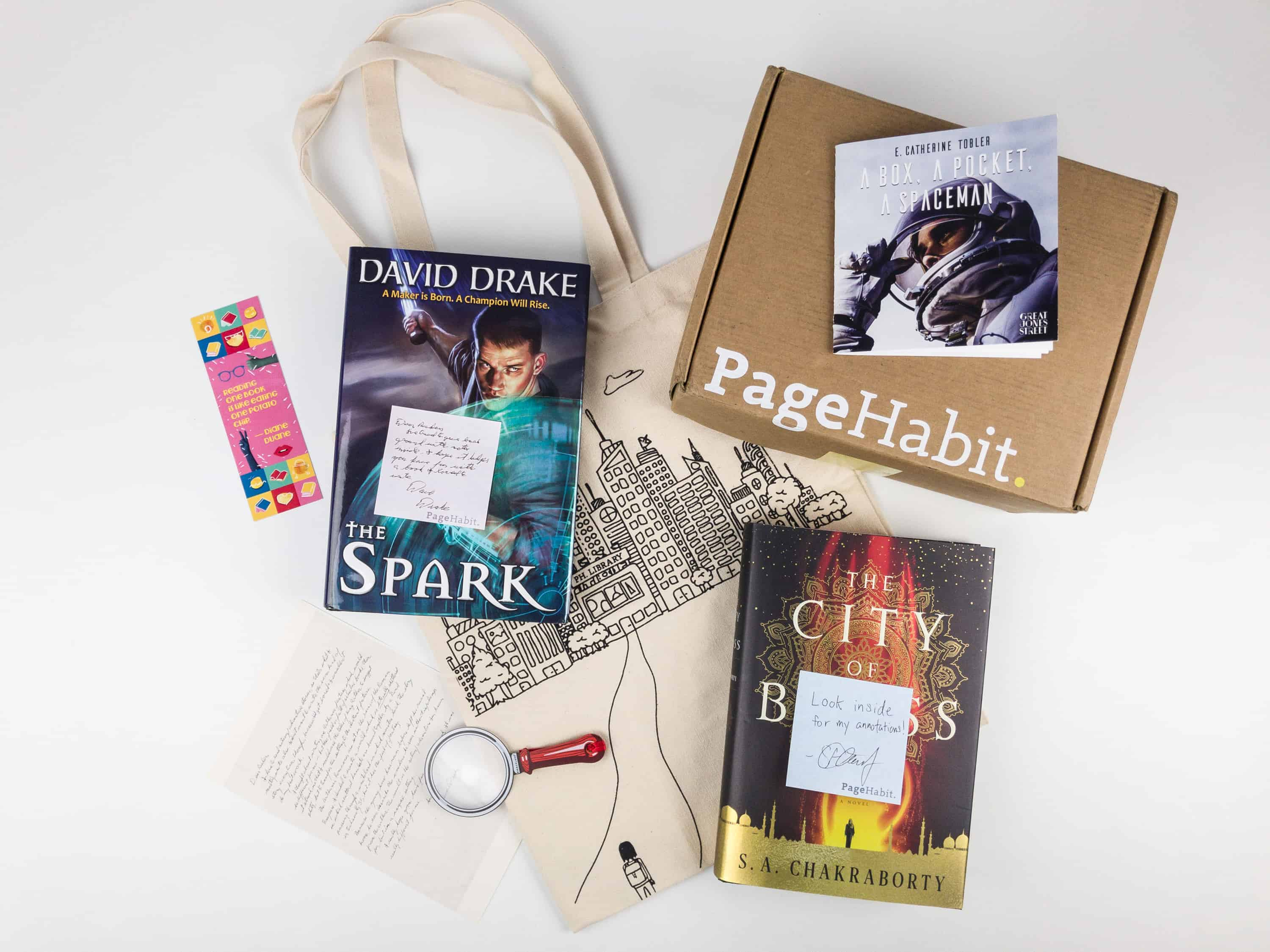 PageHabit November 2017 Subscription Box Review + Coupon – Science Fiction + Fantasy