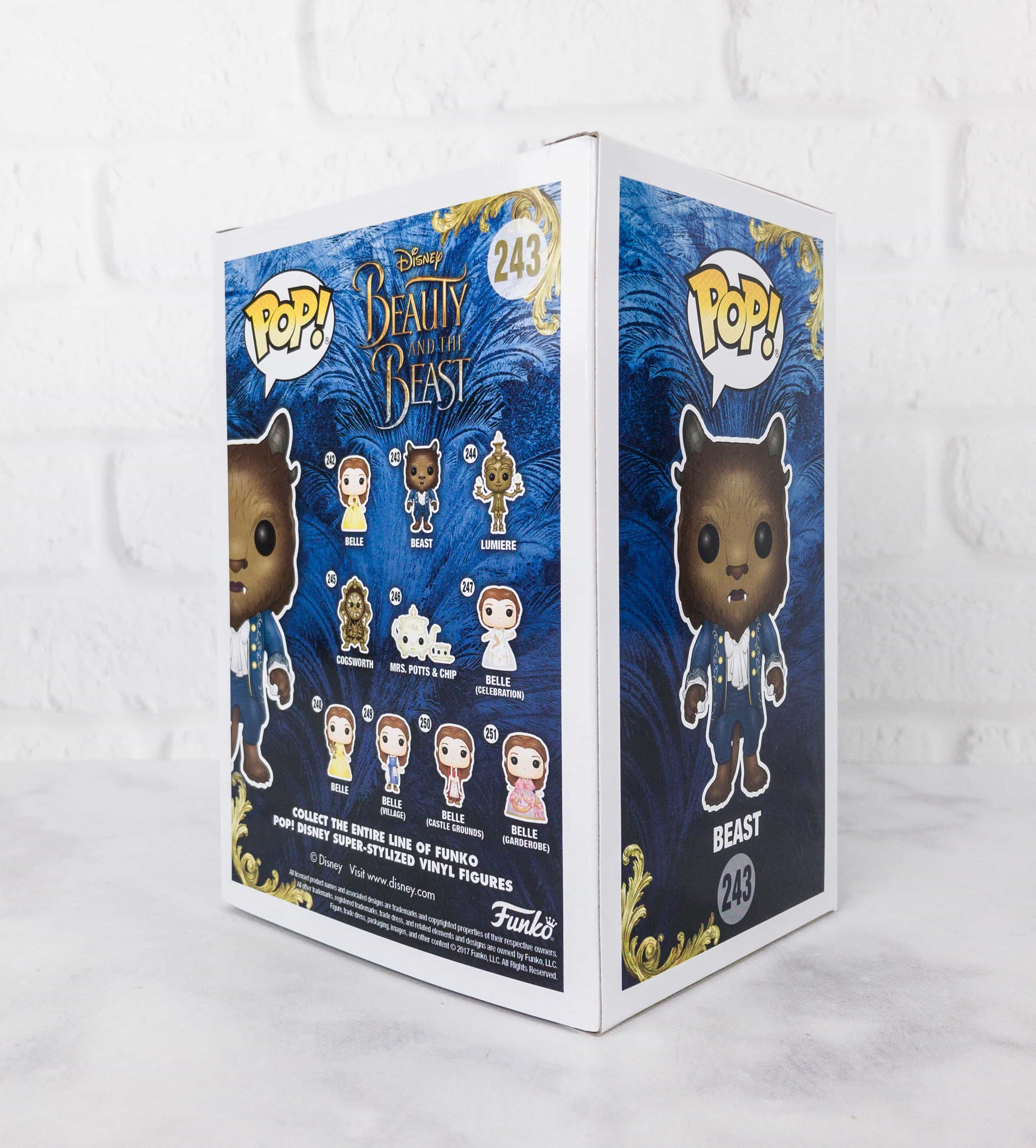 The back of the box features other pops from the movie. Just give them a thumbs up if you want another one.