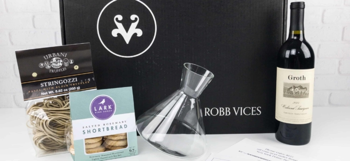 Robb Vices November 2017 Subscription Box Review + Coupon