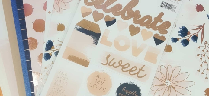Scrapbooking Store September 2017 Subscription Box Review