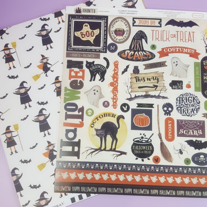 Scrapbooking Store October 2017 Subscription Box Review Hello
