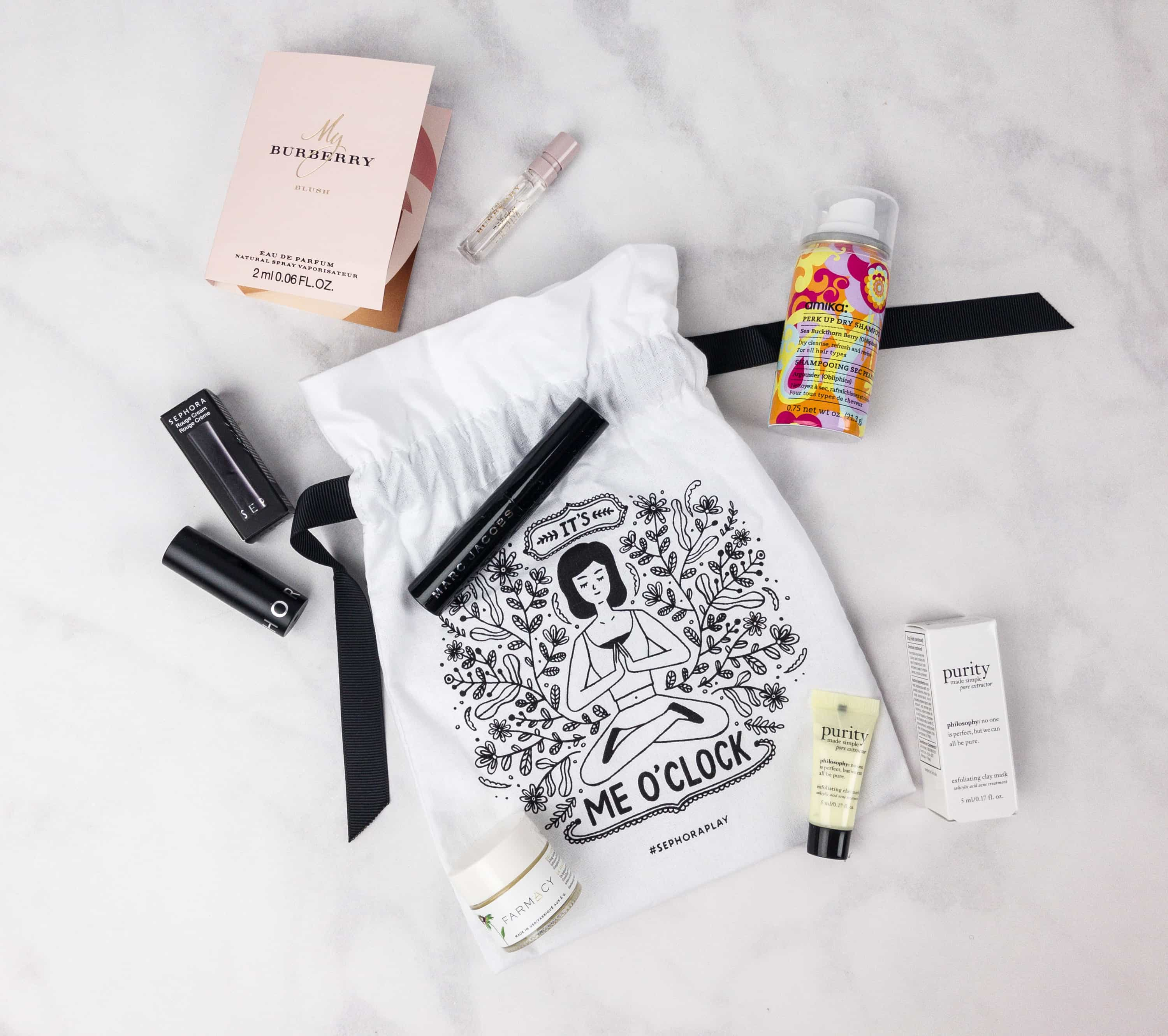 Play! by Sephora November 2017 Subscription Box Review