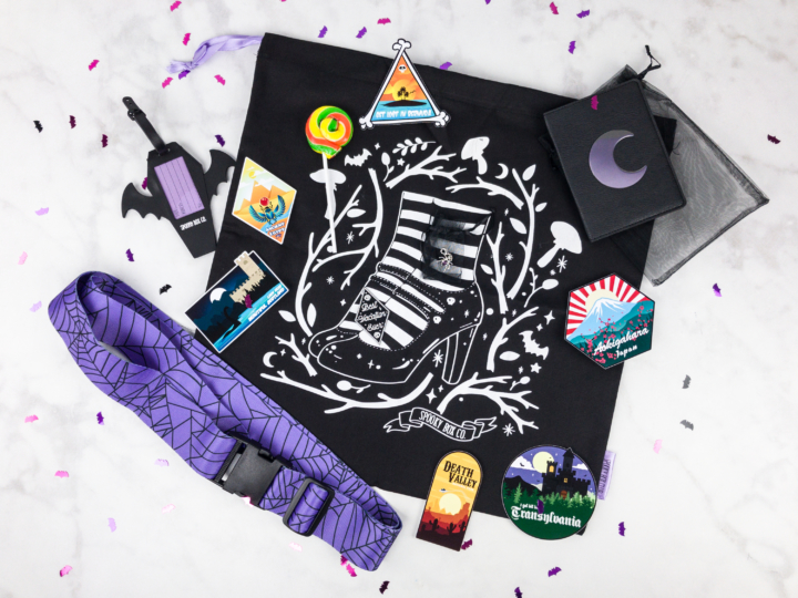 Spooky Box Club October 2017 Subscription Box Review