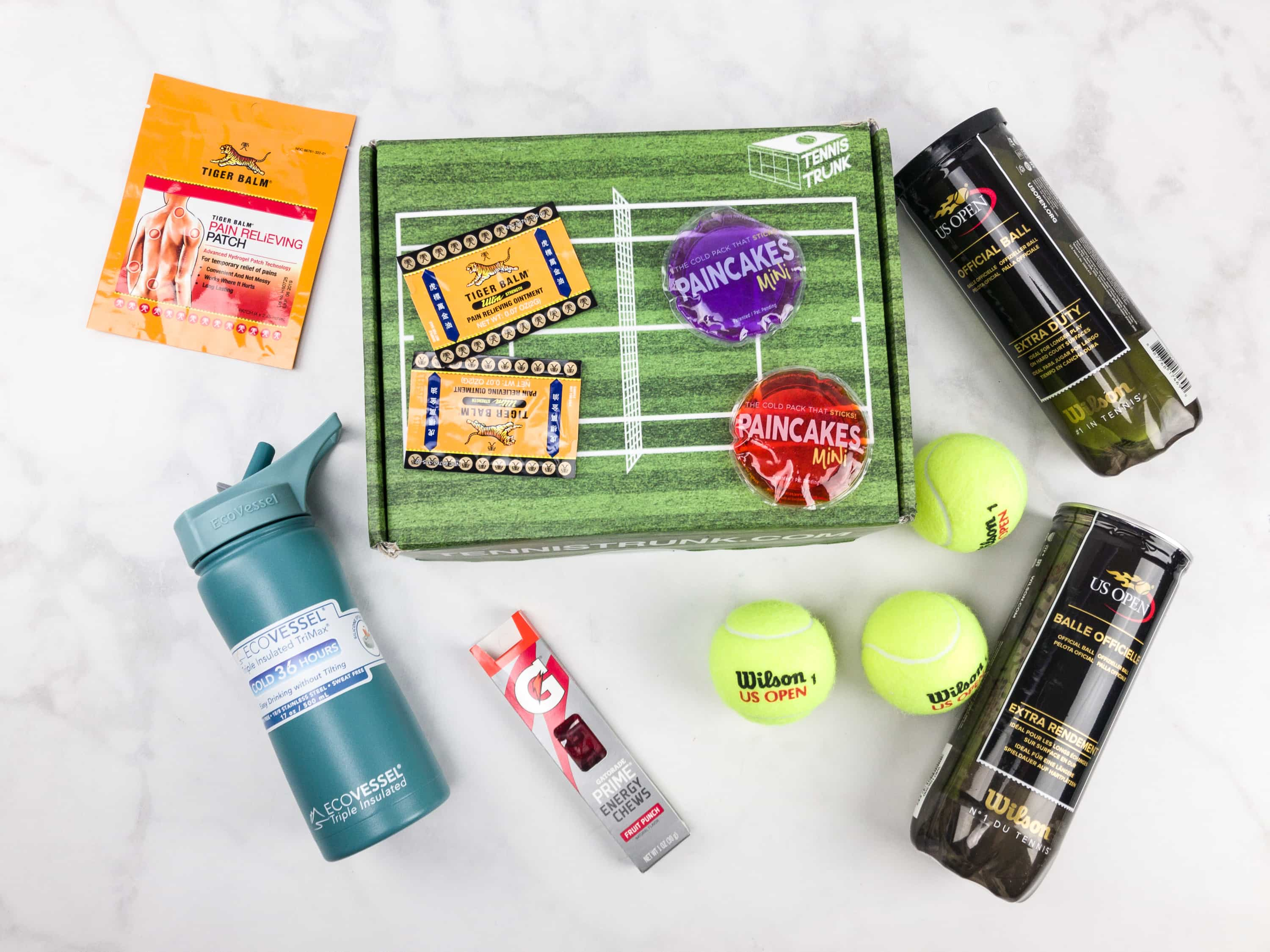 Tennis Trunk November 2017 Subscription Box Review & Coupon