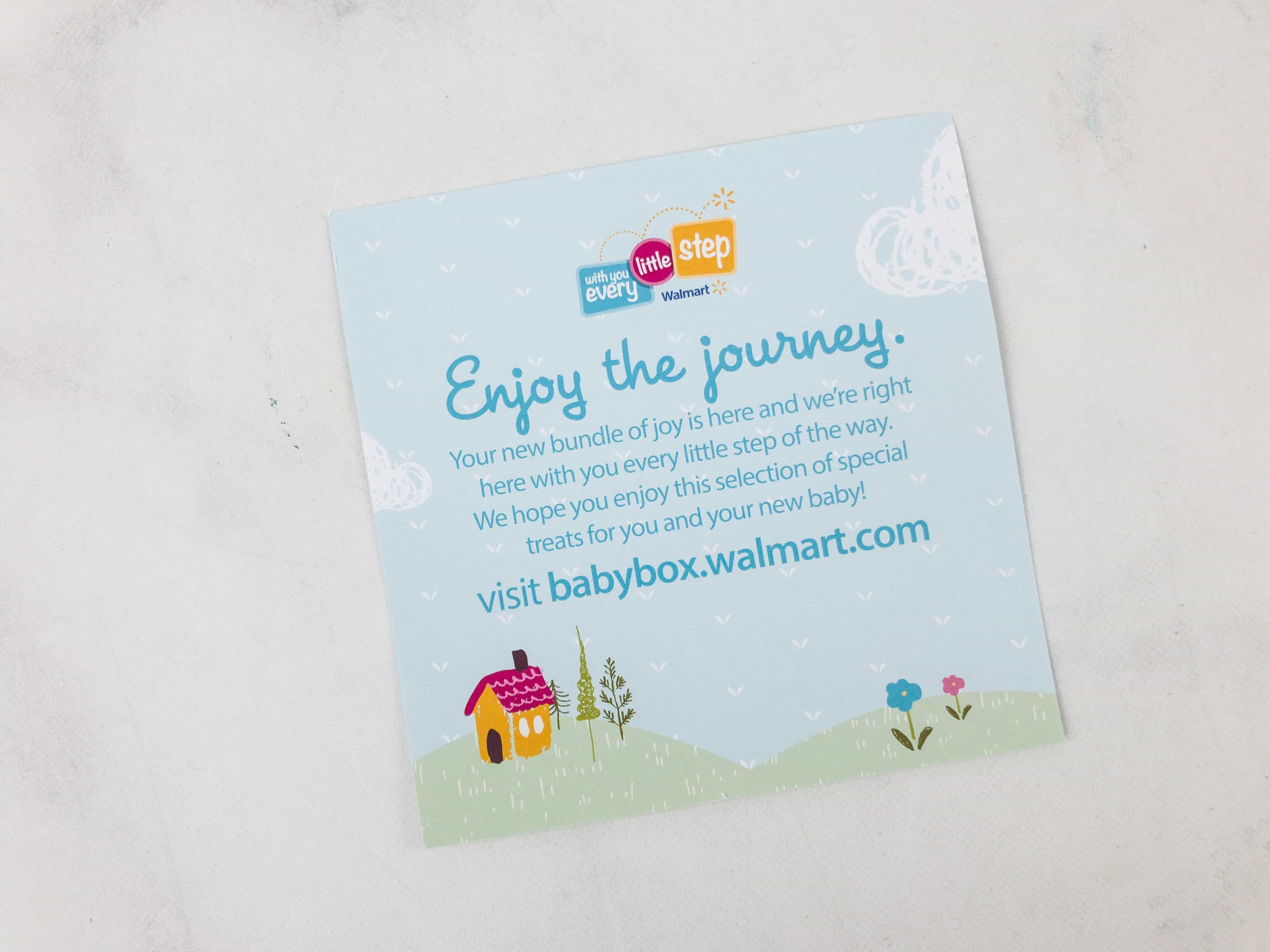 Verwonderend Walmart Baby Box Review: Prenatal Box - hello subscription VM-21
