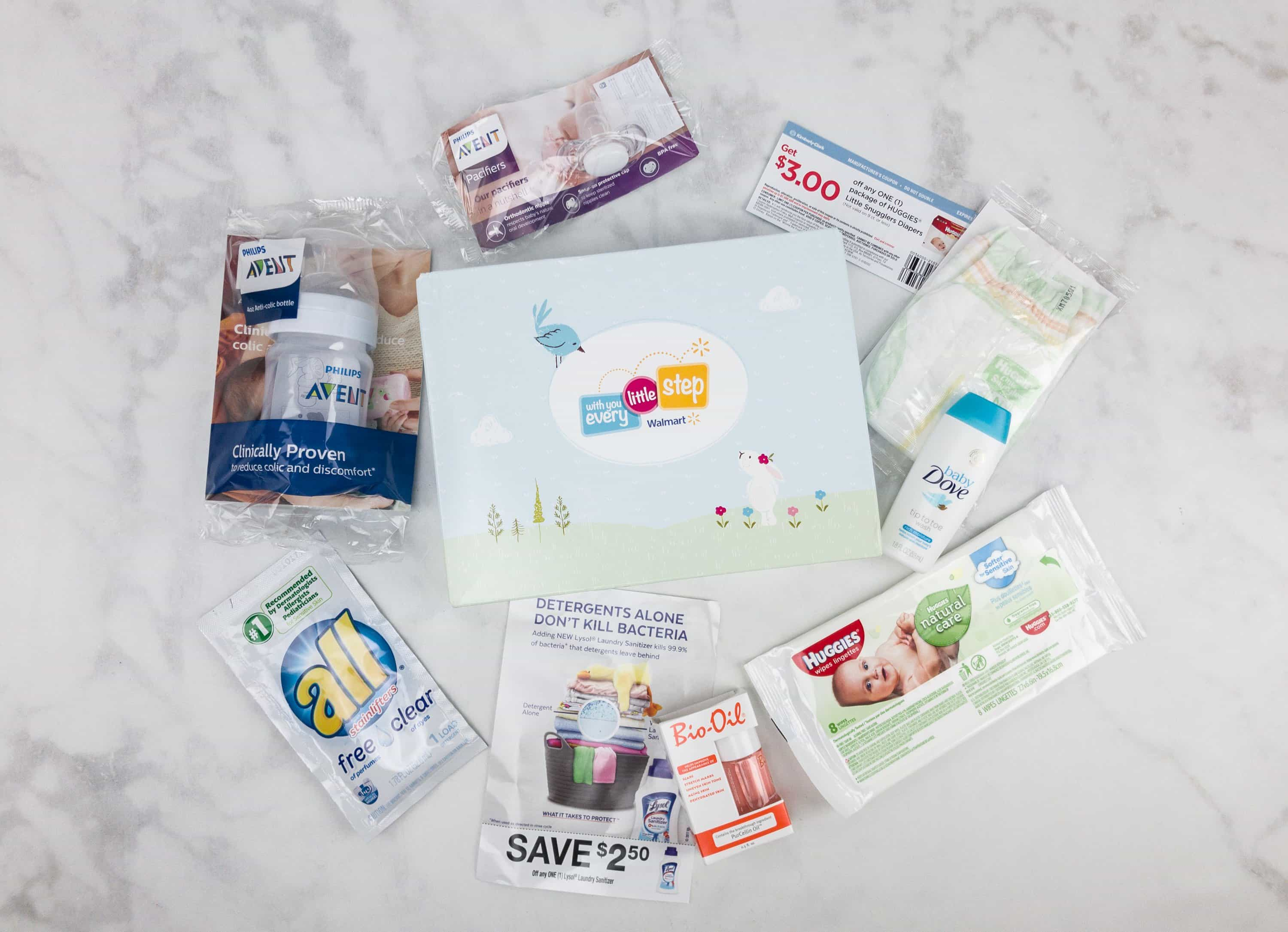 Verwonderlijk Walmart Baby Box Review: Prenatal Box - hello subscription SR-54