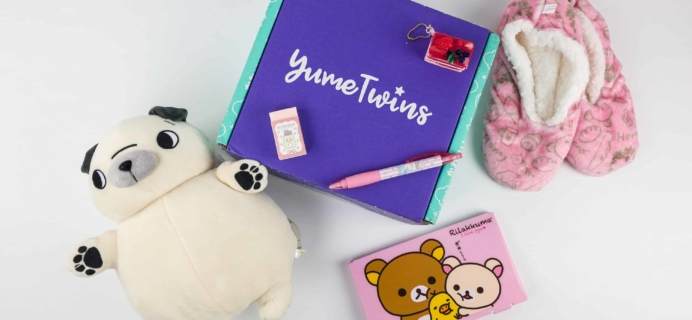 YumeTwins December 2017 Subscription Box Review + Coupon