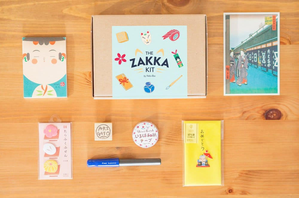 The Zakka Kit by Neko Box Black Friday 2017 Deal: Get 20% off 3+ Month Subscriptions!