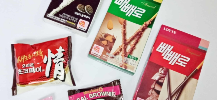 Korean Snack Box October 2017 Subscription Box Review