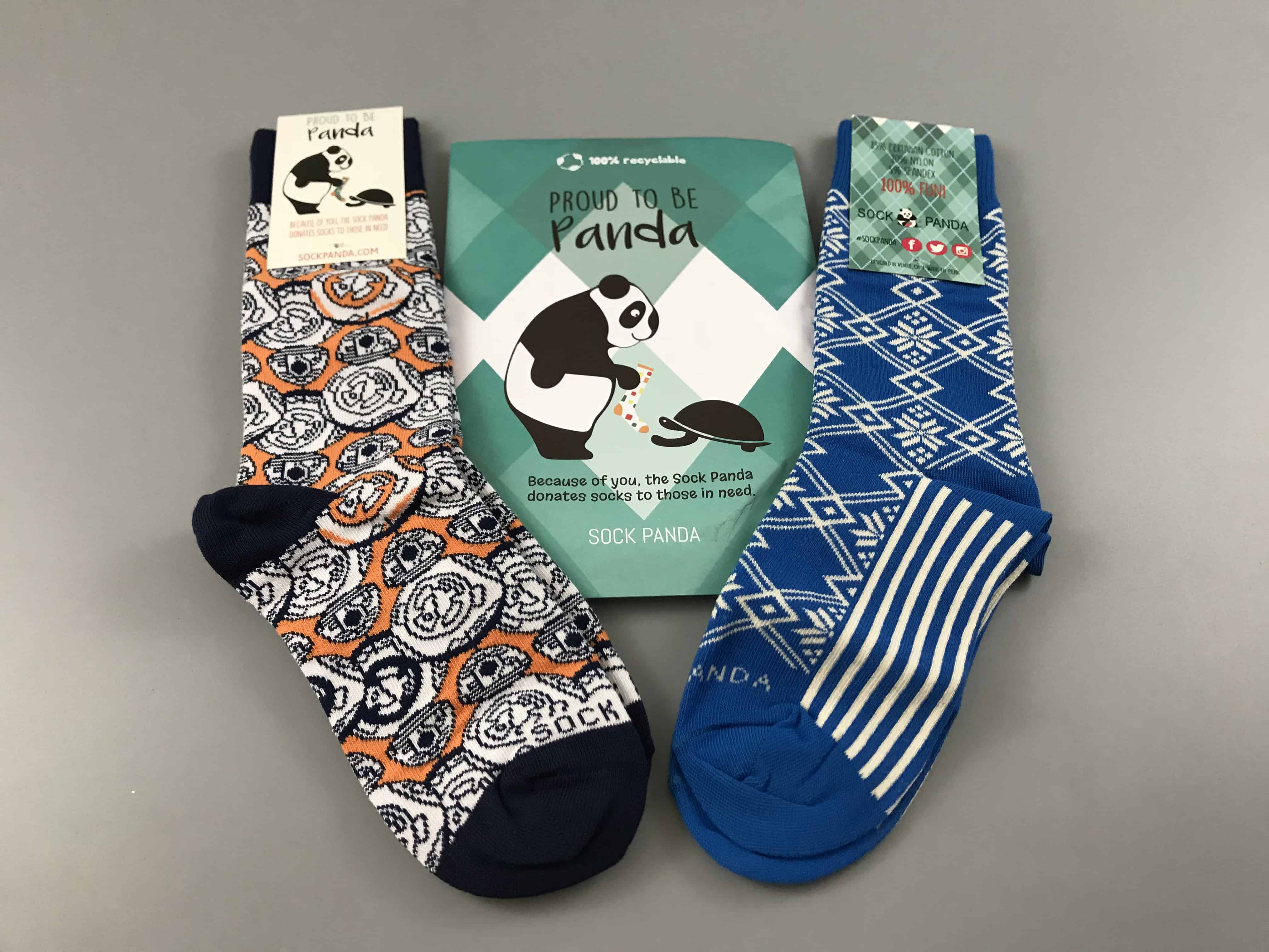 Sock Panda Tweens December 2017 Subscription Review + Coupon