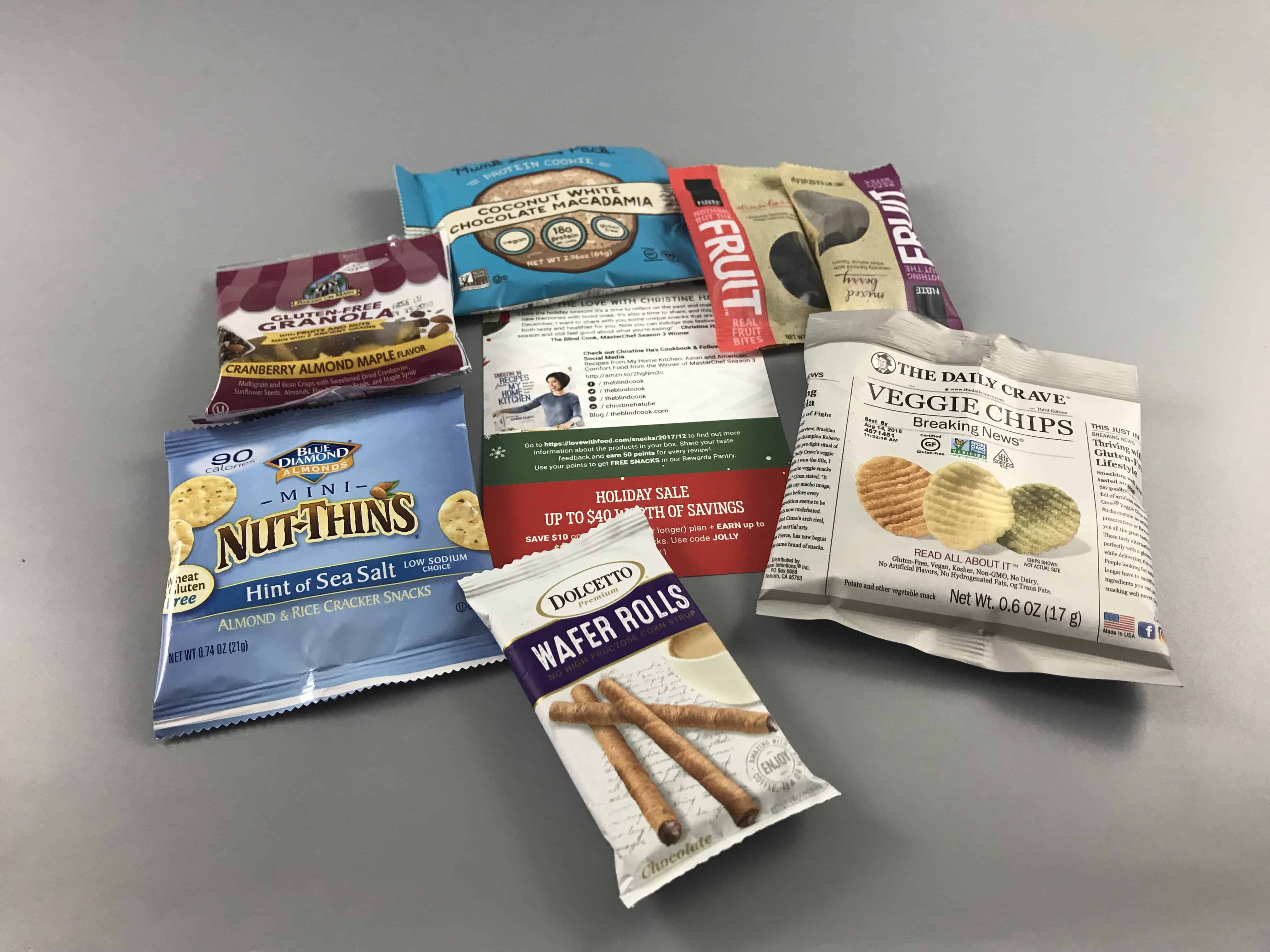 Love With Food December 2017 Tasting Box Review + Coupon!