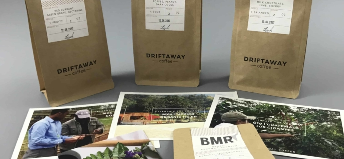 Driftaway Coffee December 2017 Subscription Box Review