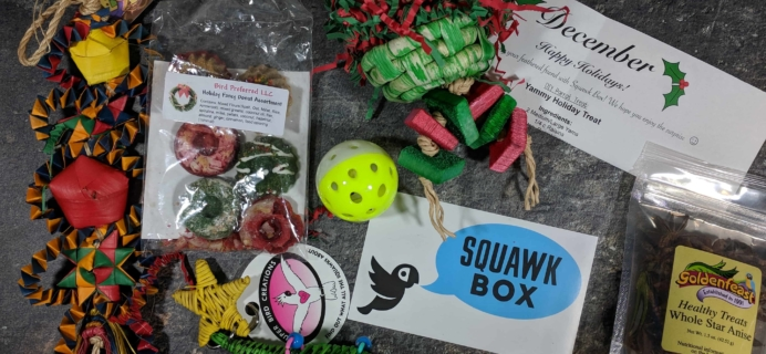 Squawk Box Subscription Review – December 2017