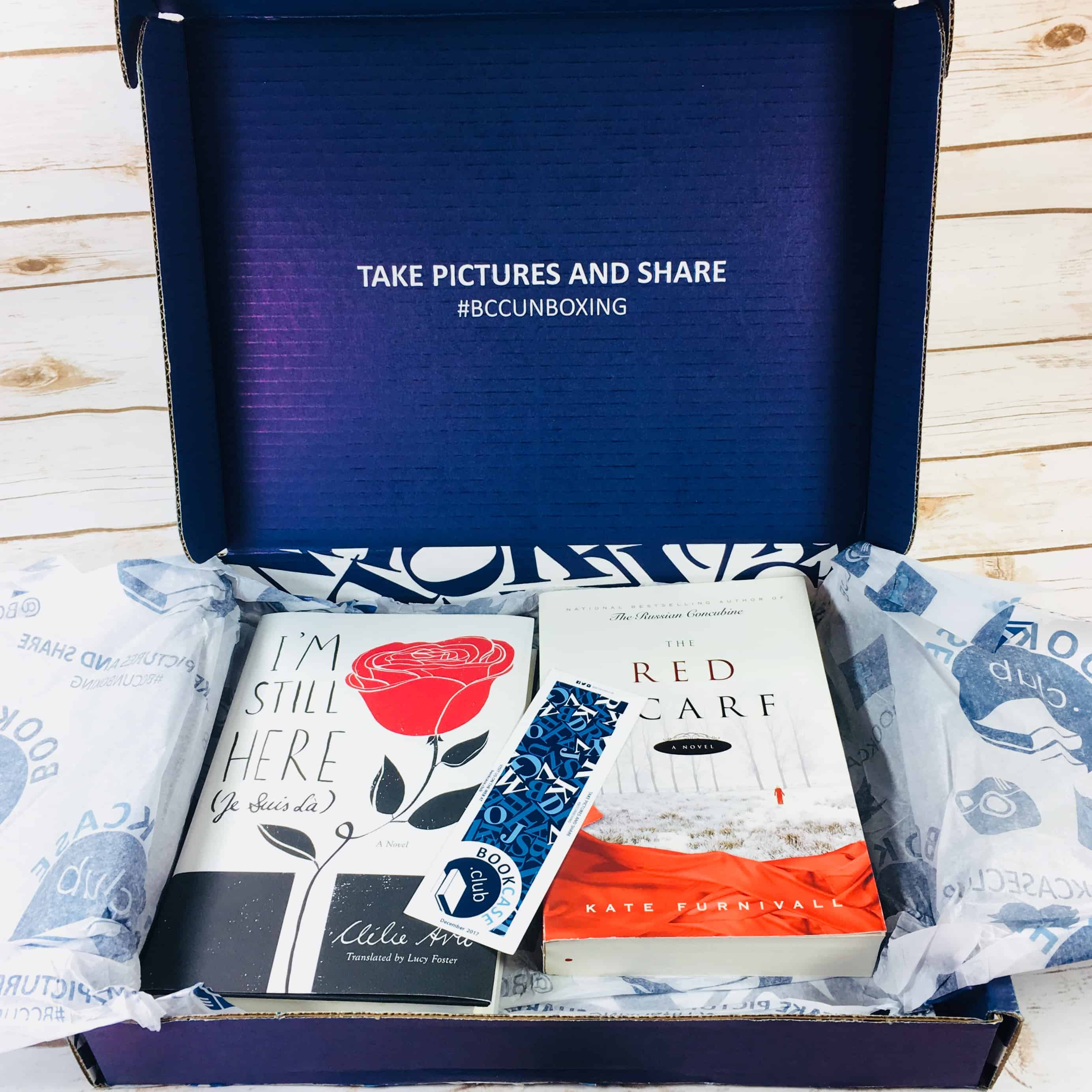 BookCase.Club December 2017 Subscription Box Review + Coupon – Booking for Love Case