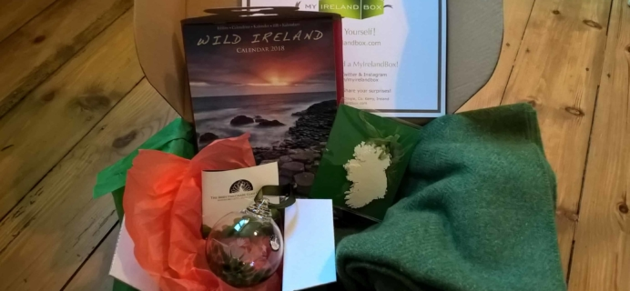 My Ireland Box Subscription Box Review – December 2017