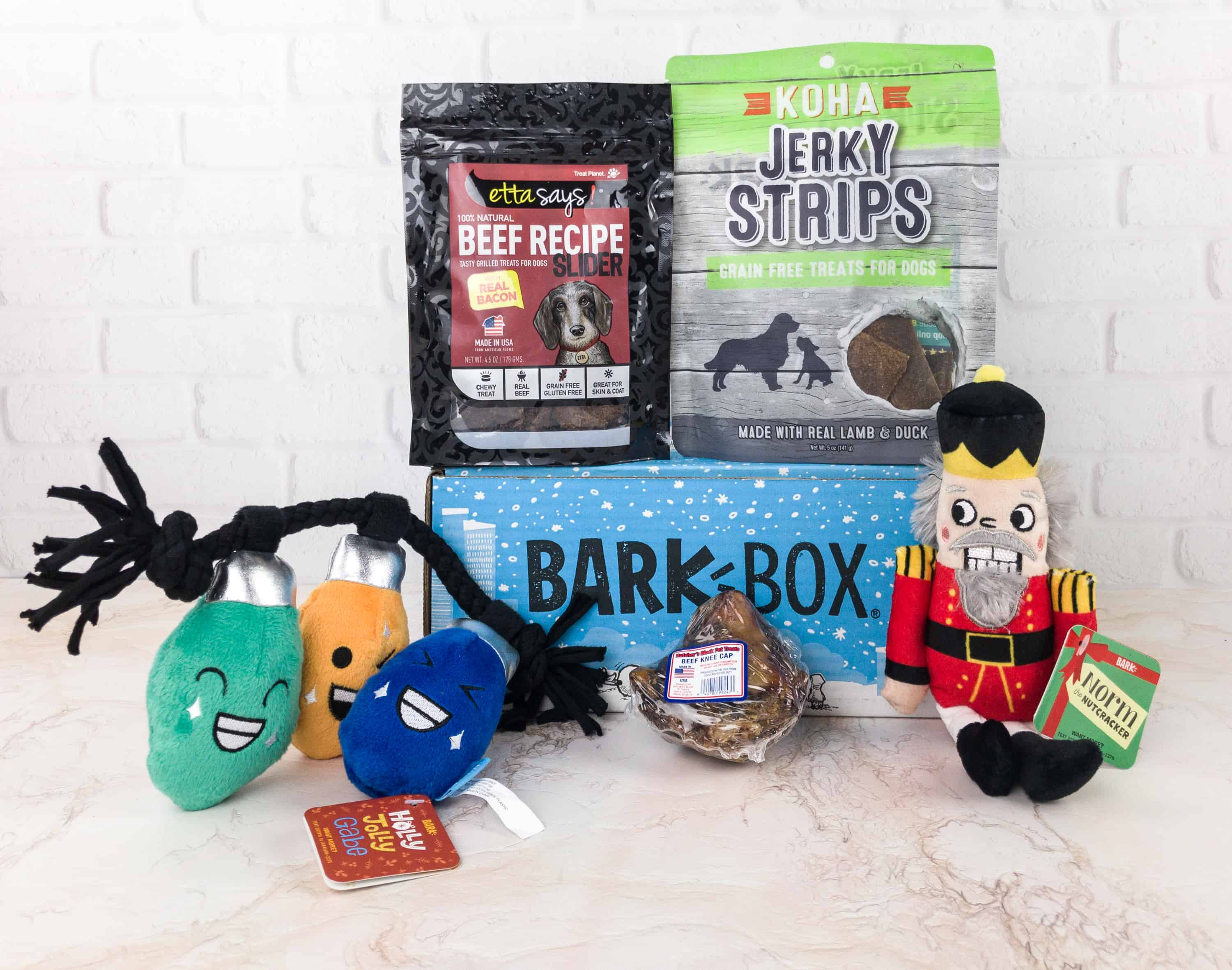Barkbox December 2017 Subscription Box Review + Coupon