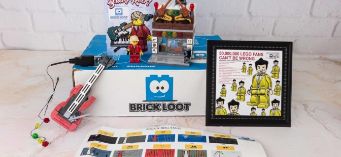 Brick Loot December 2017 Subscription Box Review & Coupon