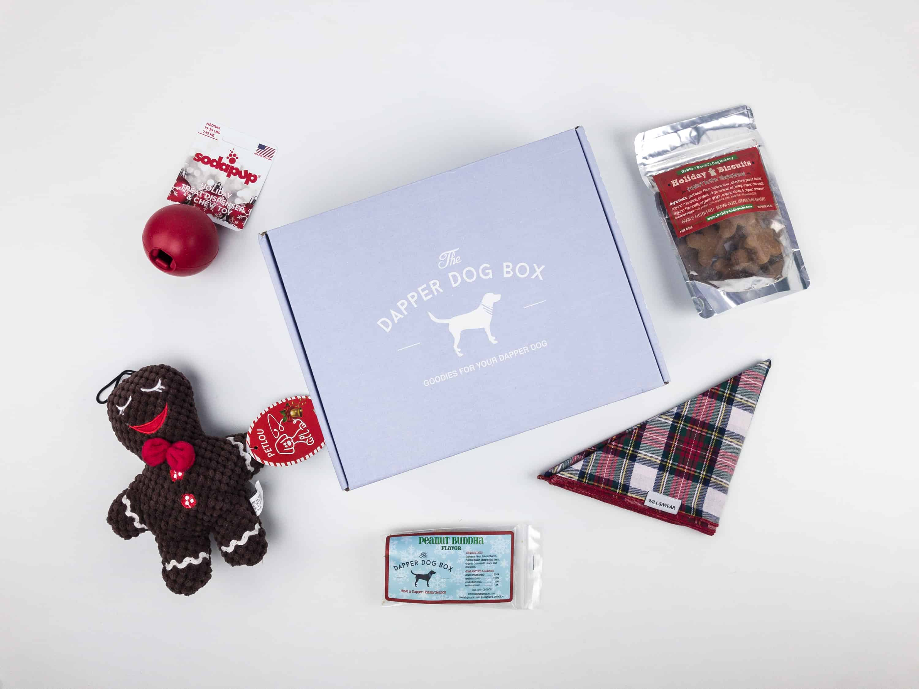 The Dapper Dog Box December 2017 Subscription Box Review + Coupon