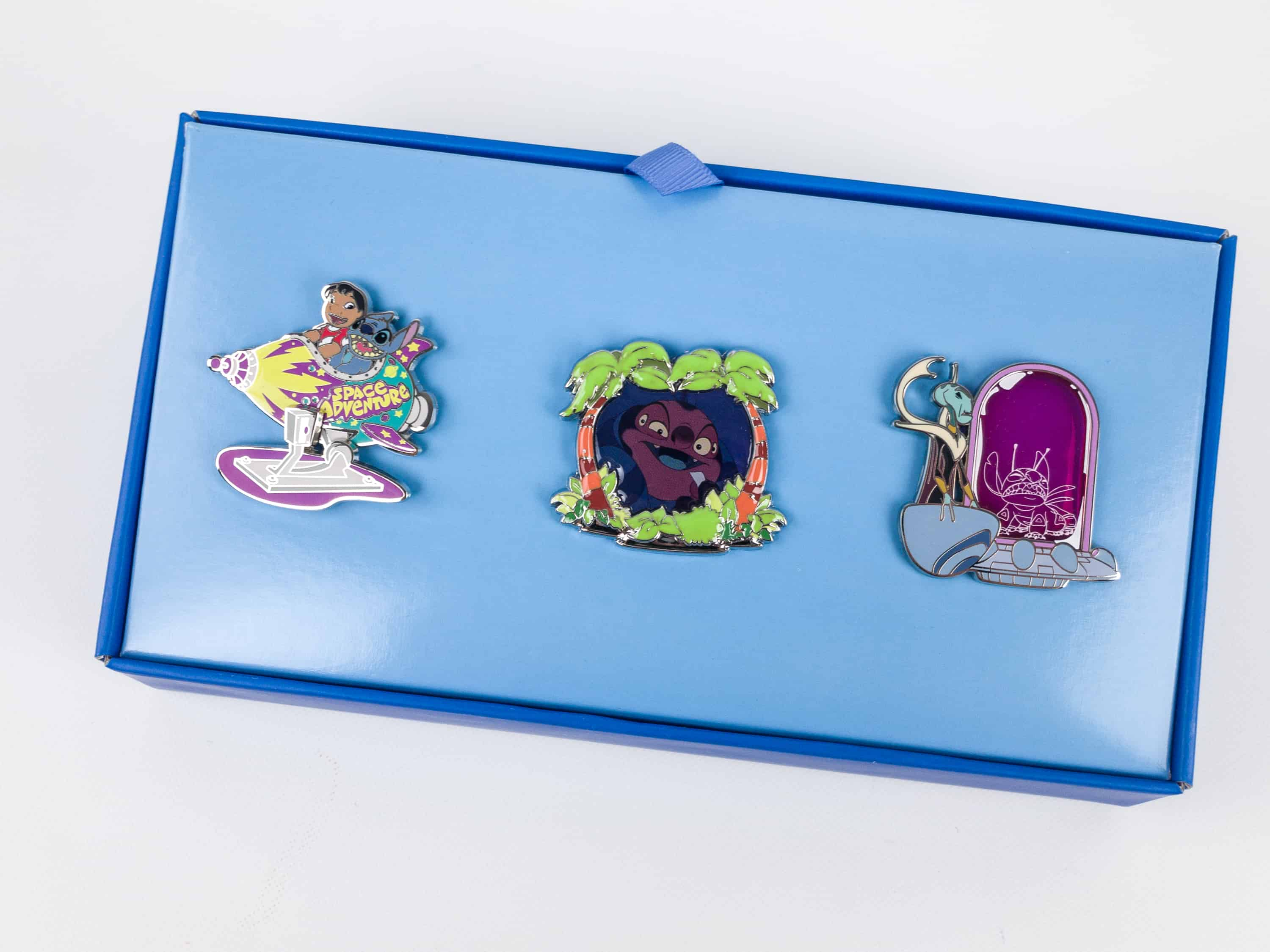 Disney Park Pack Pin Edition 3.0 December 2017 Subscription Box Review