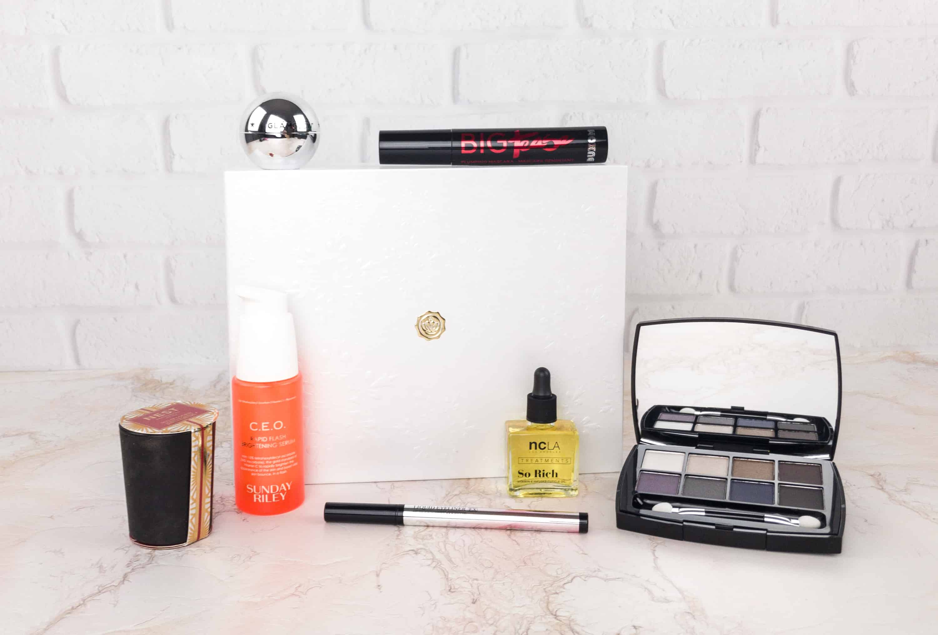 GLOSSYBOX Holiday 2017 Limited Edition Box Review