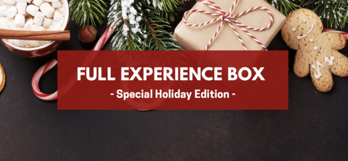 Yummy Bazaar December 2017 Full Experience Box Theme Spoiler + Coupon