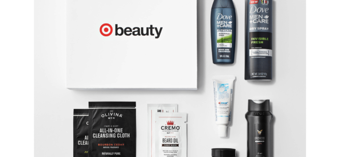 December 2017 Holiday Target Beauty Box for Men – Now Just $5!