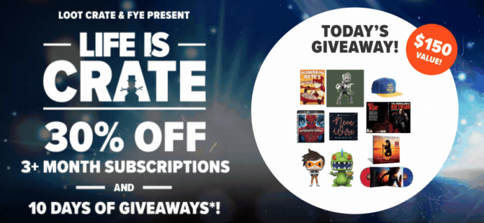 Loot Crate Holiday Sale – 30% Off 3+ Month Subscriptions!