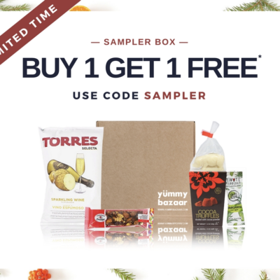 Yummy Bazaar Sampler Box Deal: Buy One Get One Free + December 2017 Spoilers!