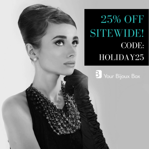 Your Bijoux Box Sale: 25% Off Sitewide + 25% Off Subscriptions!