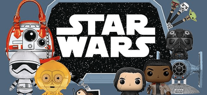 TODAY ONLY! Smuggler's Bounty Coupon: 15% Off The Last Jedi Box & All Things Star Wars at Funko!
