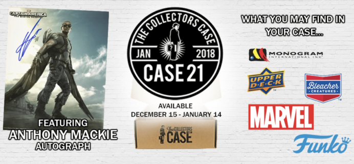 The Collectors Case January 2018 Spoilers!