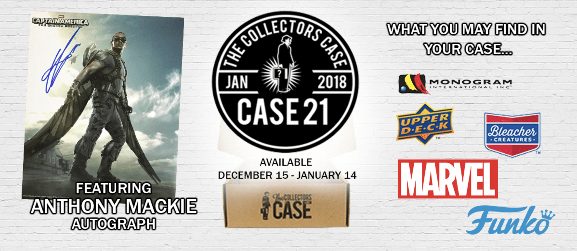 The Collectors Case January 2018 Spoiler #1