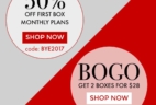 SprezzaBox Year End Deal: Get 50% Off First Month Or Buy 2 Boxes for $28!