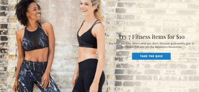 LAST DAY: Wantable Fitness Edit FREE Styling Fee – 50% Off!