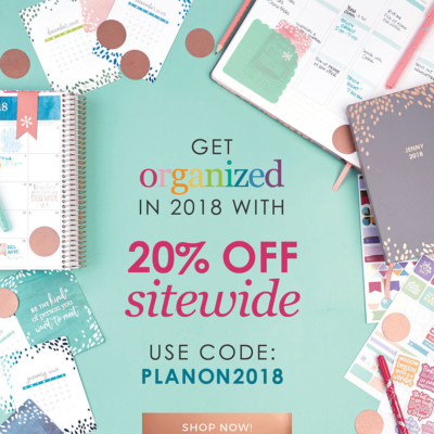 Erin Condren New Year Sale: 20% Off Sitewide!