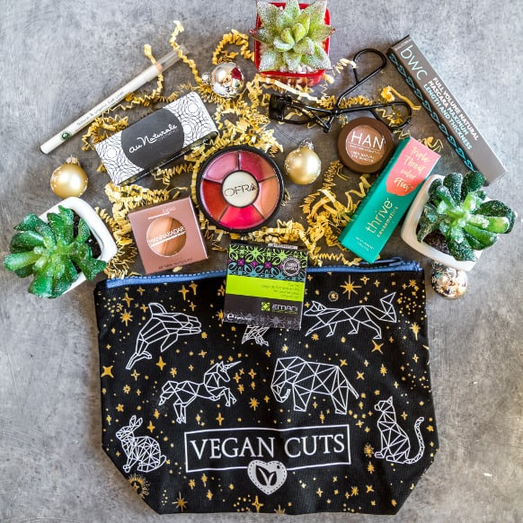 Vegan Cuts Year End Sale: Get The Magnificent Makeup Haul For Only $55!