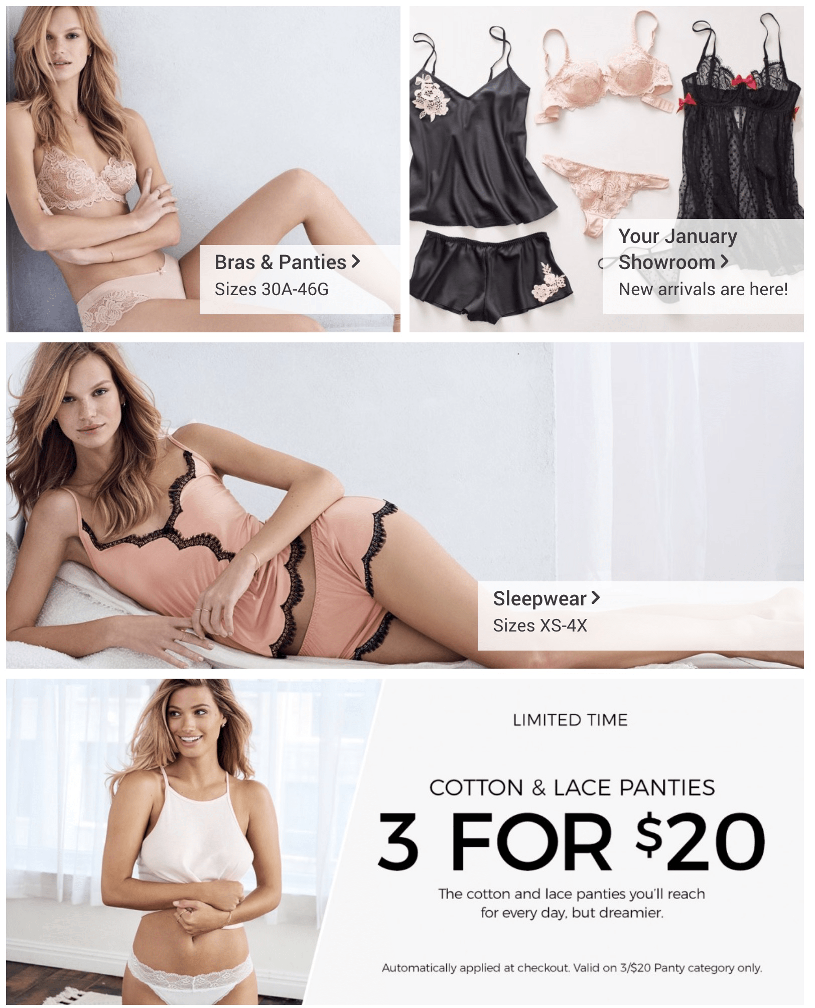 69d9c44bd7 Adore Me January 2018 Selection Time! - hello subscription