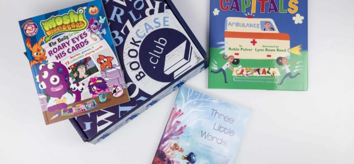 Kids BookCase Club December 2017 Subscription Box Review