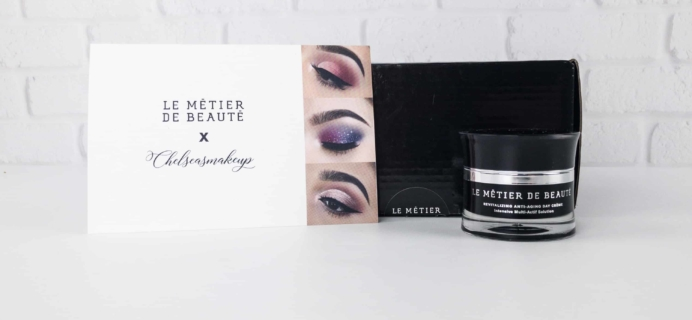 Le Métier de Beauté Beauty Vault VIP Subscription Box Review – November 2017