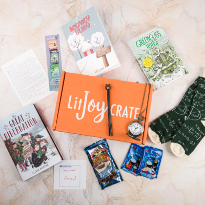 LitJoy Crate Winter 2017 Subscription Box Review + Coupon – Middle Grade Crate