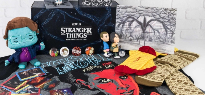 Loot Crate Stranger Things Limited Edition Crate Review