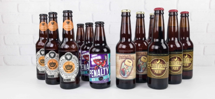The U.S. and International Variety Beer Club November 2017 Subscription Box Review + Coupons