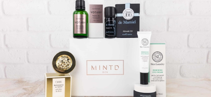 MINTD Box December 2017 Subscription Box Review + Coupon!