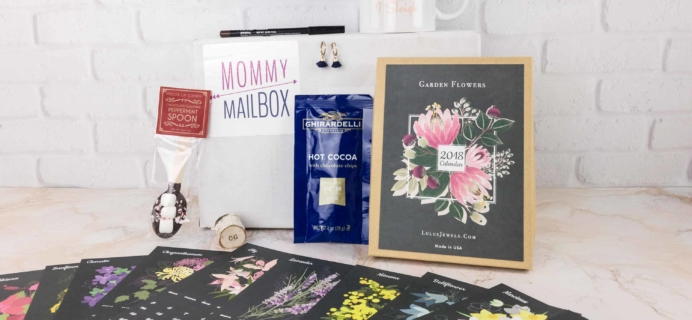 December 2017 Mommy Mailbox Subscription Box Review & Coupon