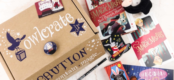 OwlCrate Jr. December 2017 Box Review