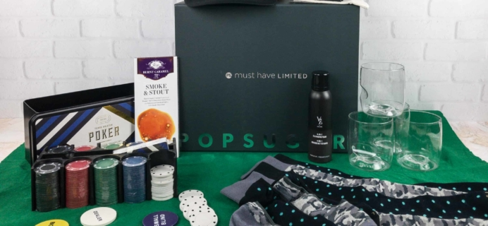 Popsugar Must Have Winter 2017 Limited Edition Box Review – Men's