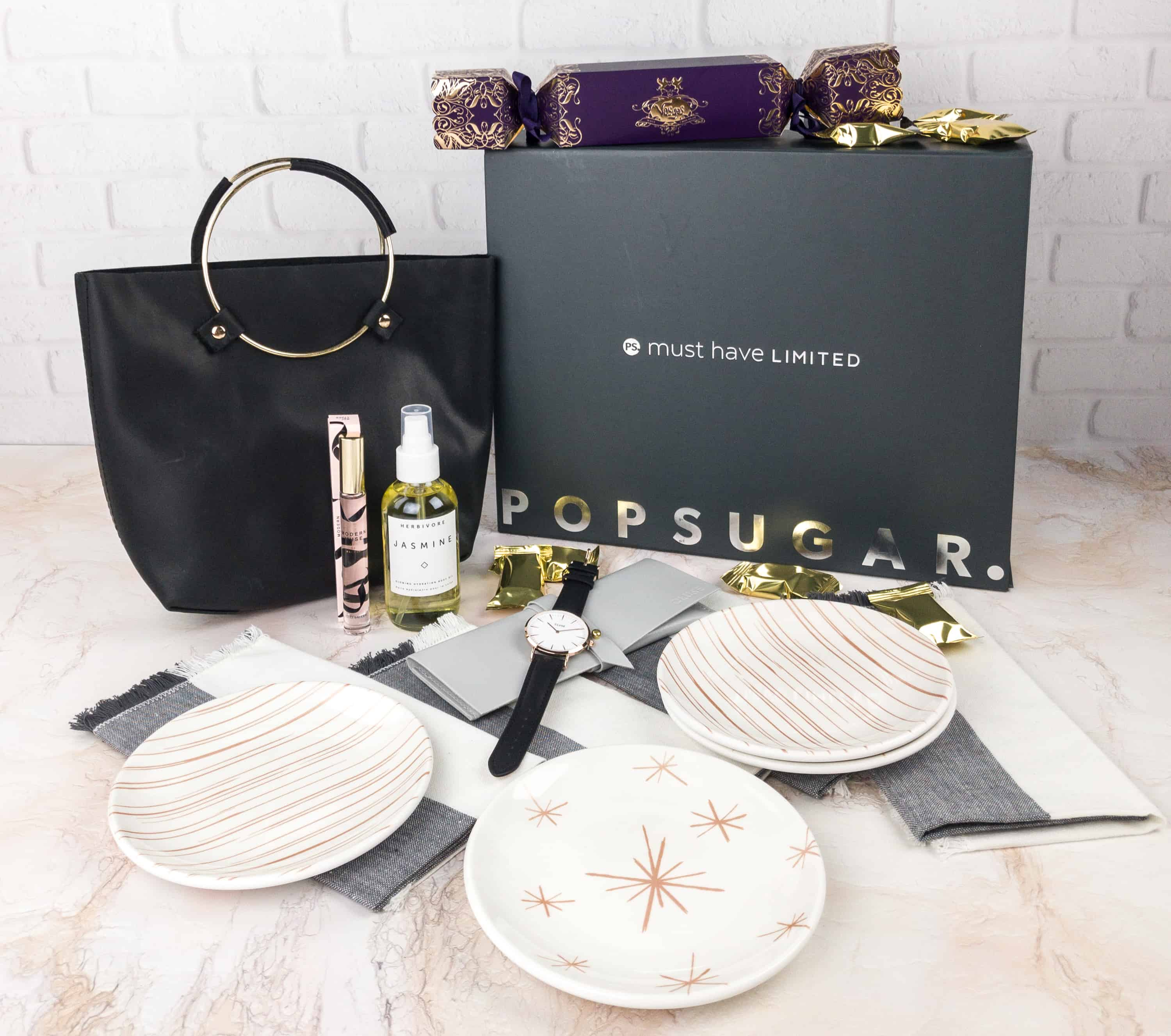 Popsugar Must Have Winter 2017 Limited Edition Box Review